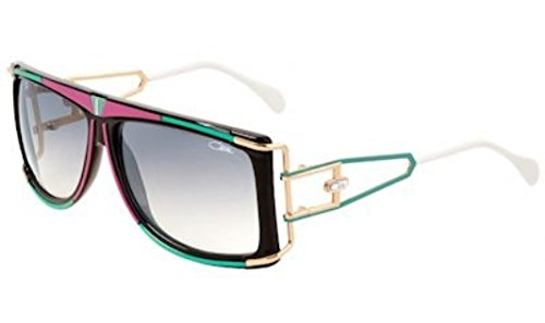 CAZAL 866 Sunglasses 644SG Pink/Green/Black-Gold Gradient...
