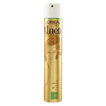 0c47f2033ae L'Oréal Paris Elnett Unfragranced Extra Strength Hairspray 400ml ...