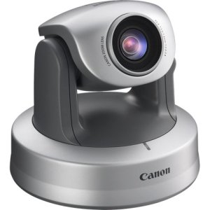 Canon VB-C300 Surveillance/Network Camera - Color Monochrome - 2.4x Optical - CCD - Cable - Fast Ethernet
