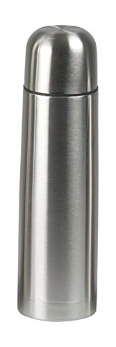 (Deluxe Stainless Steel Vacuum Insulated Bullet Flask Thermos Travel Coffee Water Drink Bottle, Leak Proof Double Wall, Portable bottle, No Sweating for Hot and Cold Drinks, 25oz)