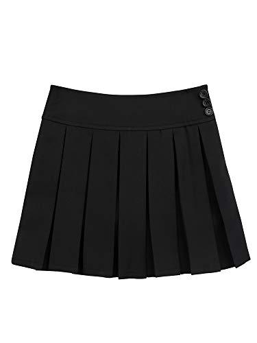 31ifmYk7LTL La falda está hecha de material de poliéster y spandex La mesa del talla bajo de la página es SÓLO PARA REFERENCIA. Verifique bien la talla y elija el tamaño adecuado según sus hábitos de vestir Poliéster y Spandex