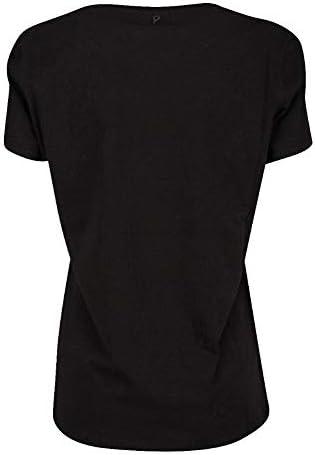 DONDUP Luxury Fashion Donna S007JS0241ZE2999 Nero Cotone T-Shirt | Primavera-Estate 20