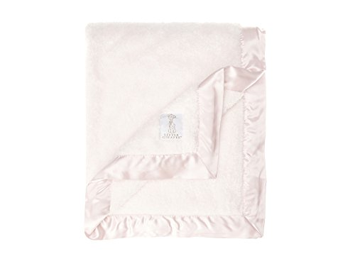 Cloth Burp Chenille Cloth - Little Giraffe Chenille Stroller Baby Blanket, Pink, 29