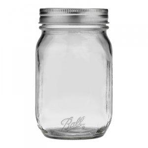 ball 16 oz mason jars. ball smooth sided regular mouth pint jars (16 oz. - 12 pack 16 oz mason g