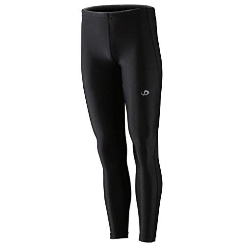 Phiten Titanium Compression Pants, Black, Large