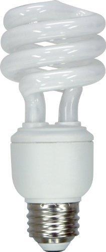 Cheap GE Lighting 65425 Energy Smart Spiral CFL 15-watt 950-Lumen T3 Spiral Light Bulb with Medium Base, 4-Pack by GE Lighting