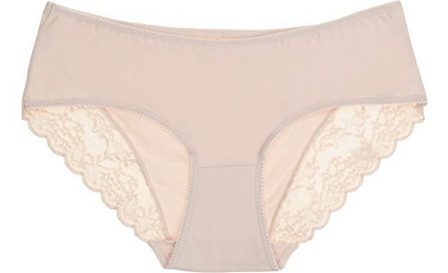 Italian Fashion IF Bragas 3 Pack para Mujer Elba Beige