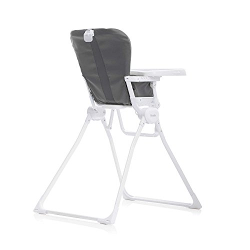 31ifqVw%2B1HL - Joovy Nook High Chair, Compact Fold, Swing Open Tray, Charcoal