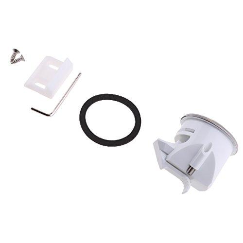 MonkeyJack Universal RV Camper Travel Trailer Boat Wash Room Toilet Door Lock 43mm Easy to Install