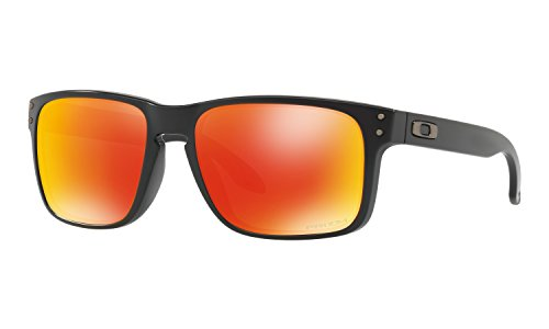 Oakley Holbrook Sunglasses Matte Black with Prizm Ruby Lens + - Colors Oakley Holbrook