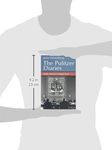 Pulitzer Diaries: Inside America's Greatest Prize by Brand: Syracuse Univ Pr (Sd)