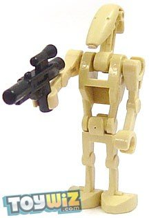 Amazoncom Lego Star Wars Minifigure Battle Droid With Blaster Gun