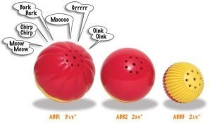 Pet Qwerks ABB2 Animal Babble Ball 2.75 in Medium, My Pet Supplies