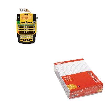 KITDYM1801611UNV20630 - Value Kit - Dymo Rhino 4200 Basic Industrial Handheld Label Maker (DYM1801611) and Universal Perforated Edge Writing Pad (UNV20630)