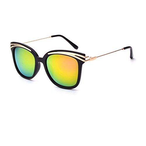 DAJB CSG700015C3 Explosion Models PC Lens Metal Sunglasses,Plastic & Metal Frames Non-Polarizer