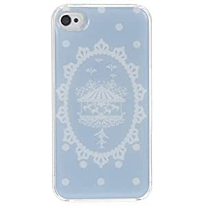 LCJ Merry-go-round Rahmen Pattern Epoxy Hard Case for iPhone 4/4S by icecream design