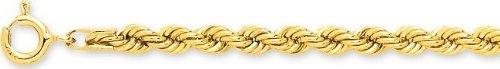 Robbez masson - Femme - Bracelet Or 9 Carats Maille Corde - Référence : 610030.3 - Longueur : 18 cm