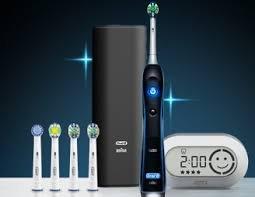 Braun OralB Oralbrush PC 7000 Noir Brosse à dents électrique