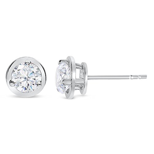 0.4 Ct Diamond Earrings - 1