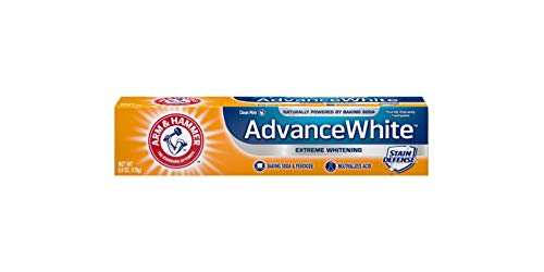 Clean Whitening Mint Toothpaste Extra (Arm & Hammer Advance White Extreme Whitening Toothpaste Clean Mint - 6 Oz- Pack of 4)
