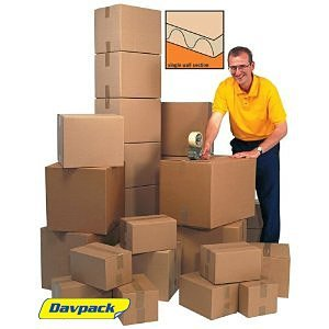 Cajas de cartón Davpack maloclusión - 200 + tamaños disponibles - Ref ASW, color marrón 425mm x 325mm x 275mm: Amazon.es: Oficina y papelería