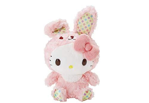 (Sanrio JP Hello Kitty Furry Rabbit Bunny. Plush Toy 10