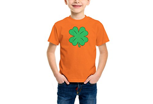YOUTH Boys Green Distressed Shamrock