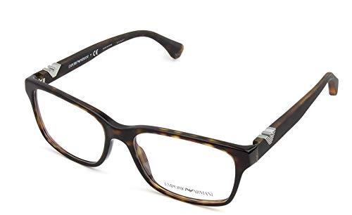 Emporio Armani EA 3042 Men's Eyeglasses Dark Havana ()