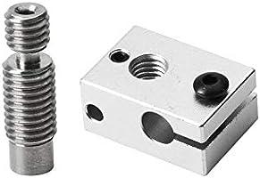 ILS - E3D-PT100 V6 Aluminio Bloque Calentamiento para Hotend ...