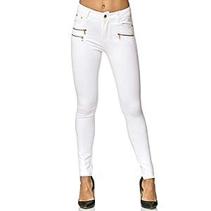Elara Pantaloni Donna Elasticizzati Skinny Fit Jegging Chunkyrayan 4