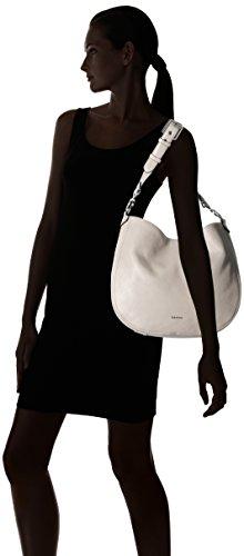 Light Pebble White Hobo Erica Calvin Klein Cognac IwxqfWHC