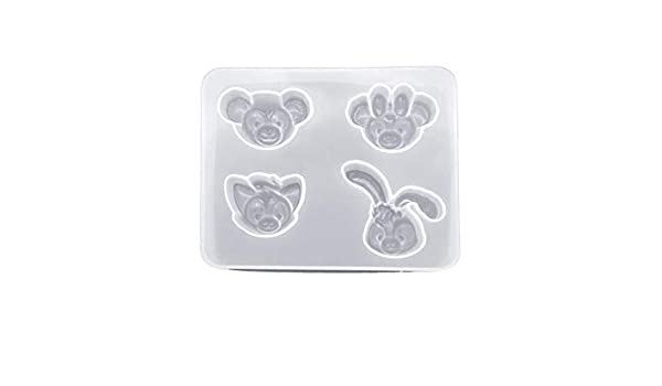 Hibye DIY Heart Silicone Mold Making Resin Making Molds For Jewelry Chocolate Fondant Candy Earrings Mold Tool