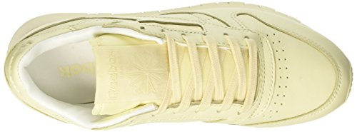 Scarpe white Donna Da Corsa Lthr Reebok Yellow Pastels Cl Giallo washed xnBtB6f