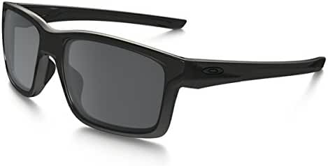 Oakley Mainlink Sunglasses, Polished Black/Black Iridium, One Size