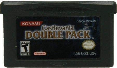 Castlevania Double Pack for Game Boy Advance Harmony of Dissonance and Aria of Sorrow