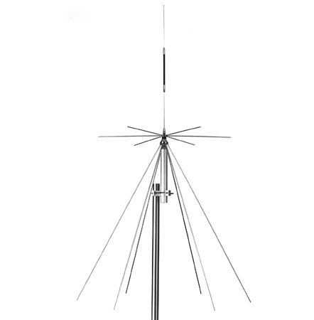 Comet DS-150S Discone Base Antenna 25-1.3GHz w/60' RG-58A/U Coax by Comet (Image #2)