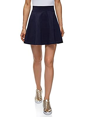 oodji Ultra Women's Flared Cotton Skirt