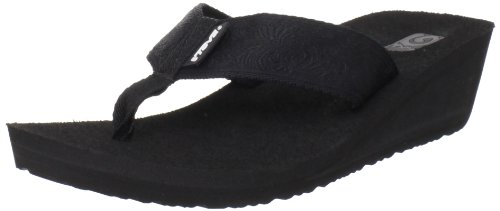 Teva Women's Mush Mandalyn Wedge 2-W,Motif Black,7 M ()
