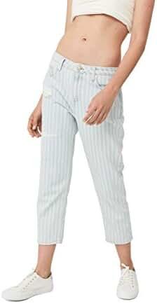 Mango Women's Summer Straight Crop Jeans