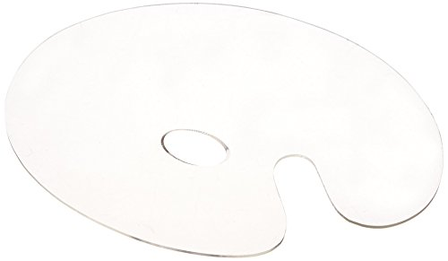 Jack Richeson Plastic Acrylic Palette, 11 X 14 in, Clear
