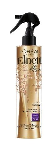 L'Oreal Paris Elnett de Luxe - Hitze Styling-Spray Glatt, 1er Pack (1 x 170 ml)