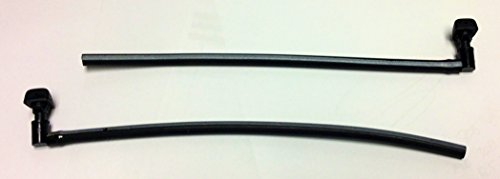 (Genuine Mitsubishi Windshield Washer Nozzle Squirter SET MR322201 MR322202 Eclipse 2000 2001 2002 2003 2004 2005 )