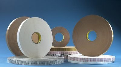 3M (465XL) Adhesive Transfer Tape Extended Liner 465XL Translucent, 3/4 in x 600 yd 2.0 mil