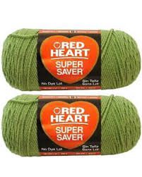 Bulk Buy: Red Heart Super Saver (2-pack) (Tea Leaf)