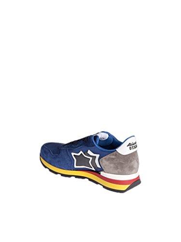 Atlantische Sterren Herren Antaresnn89b Blau Leder Sneakers
