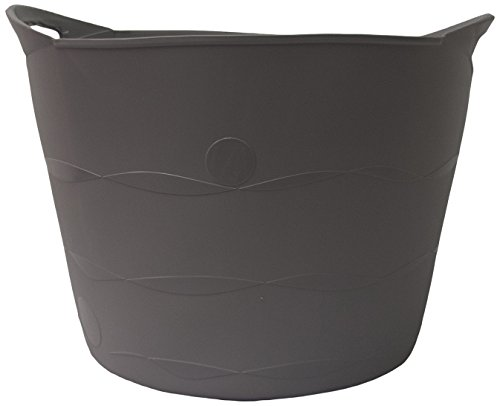 TuffTote® Multi-Use Bucket, Charcoal, 7 gal