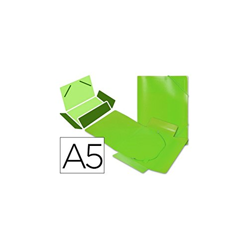Verde formato DIN A5 Beautone Folder gomma lembi 34973/in polipropilene