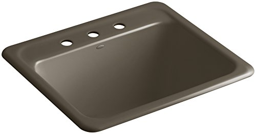 Glen Falls Top-Mount/Undermount Utility Sink with Three Fauc