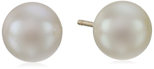 Yellow Gold Akoya Cultured Pearl - 1