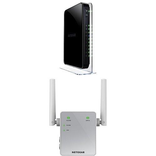 NETGEAR WNDR4500 Gigabit Extender EX3700 100NAS
